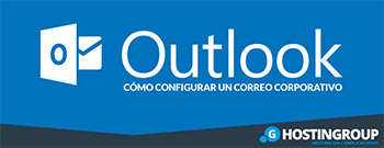 configurar correo corporativo en outlook
