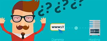 que es hosting y dominio