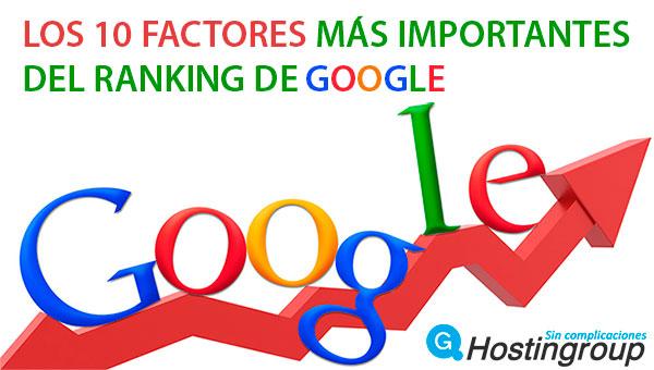 ranking de google