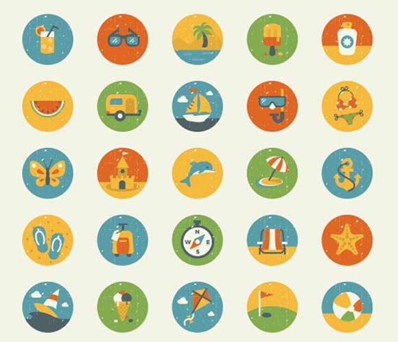 iconos web clasicos