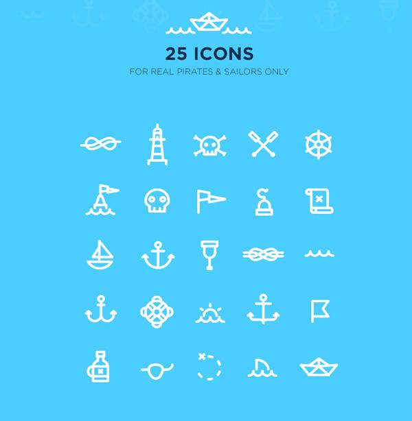 iconos web marinos gratis
