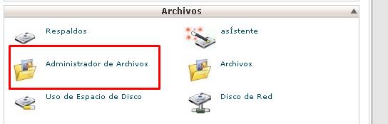 administrador-archivos