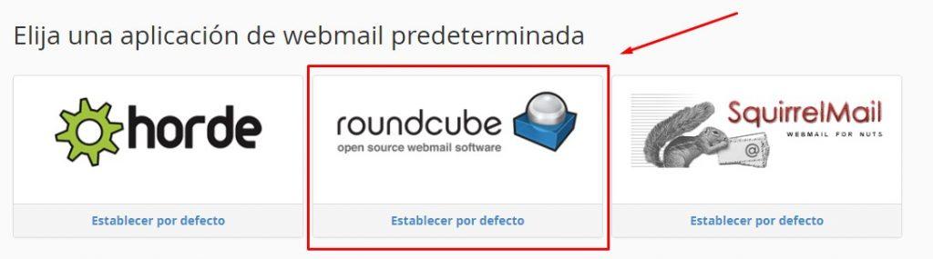 webmail cliente de correo