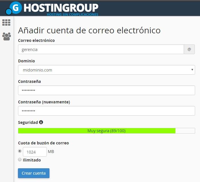 como crear correo electronico para empresas