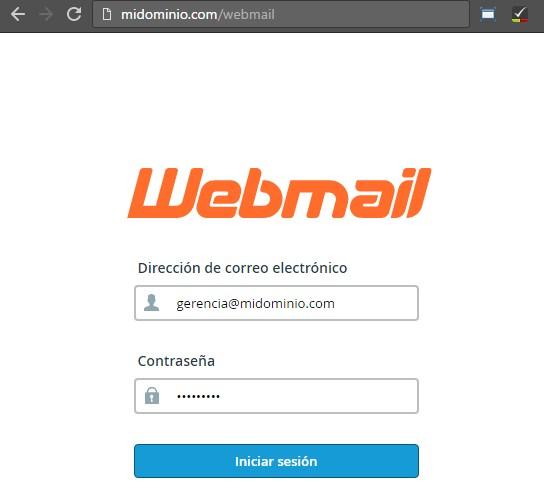 webmail correo corporativo