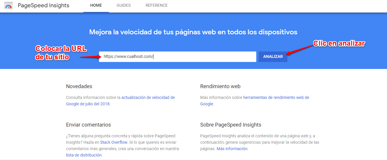 pagespeed google